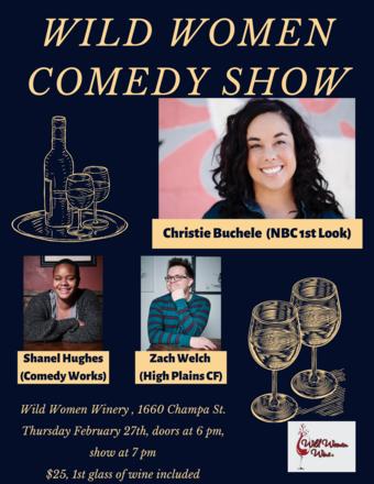 Wild Women Comedy Show February