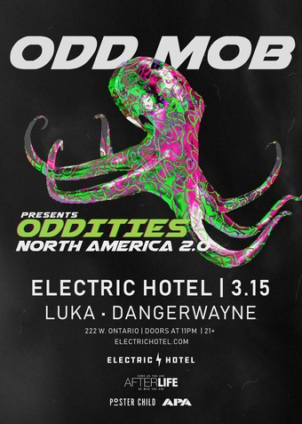 ODD MOB - Oddities North America Tour