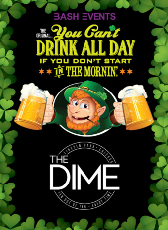 St. Patrick's Day Morning Party #YCDAD at THE DIME