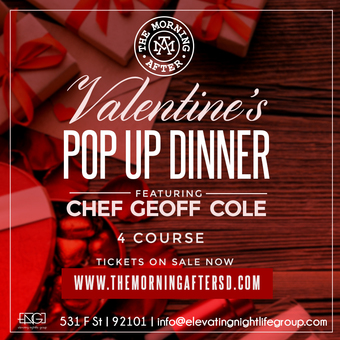 The Morning After Presents A Valentine's Pop-Up Dinner
