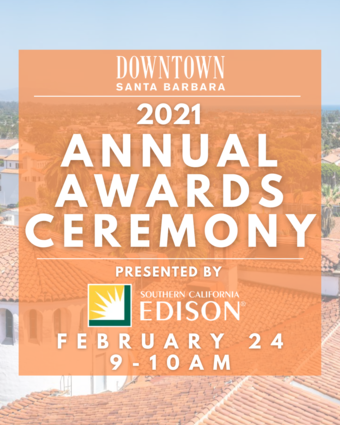 2021 Downtown Santa Barbara's Digital Annual Awards Ceremony