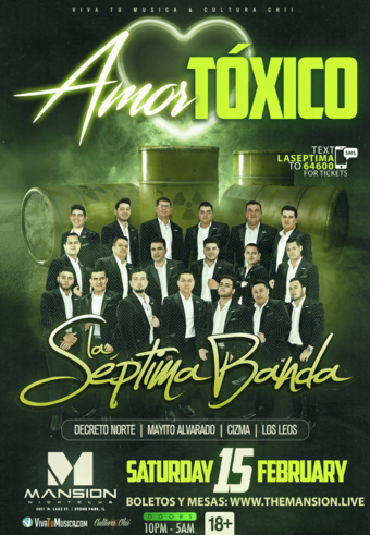La Septima Banda at Mansion Nightclub
