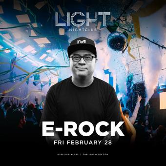 DJ E-Rock at LIGHT Vegas