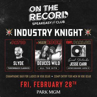 Deuces Wild On The Record Las Vegas