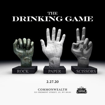 Rock Paper Scissors - The Drinking Game