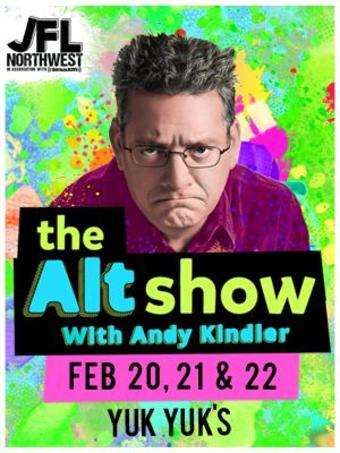The Alt Show w/Andy Kindler 2/22 1130pm