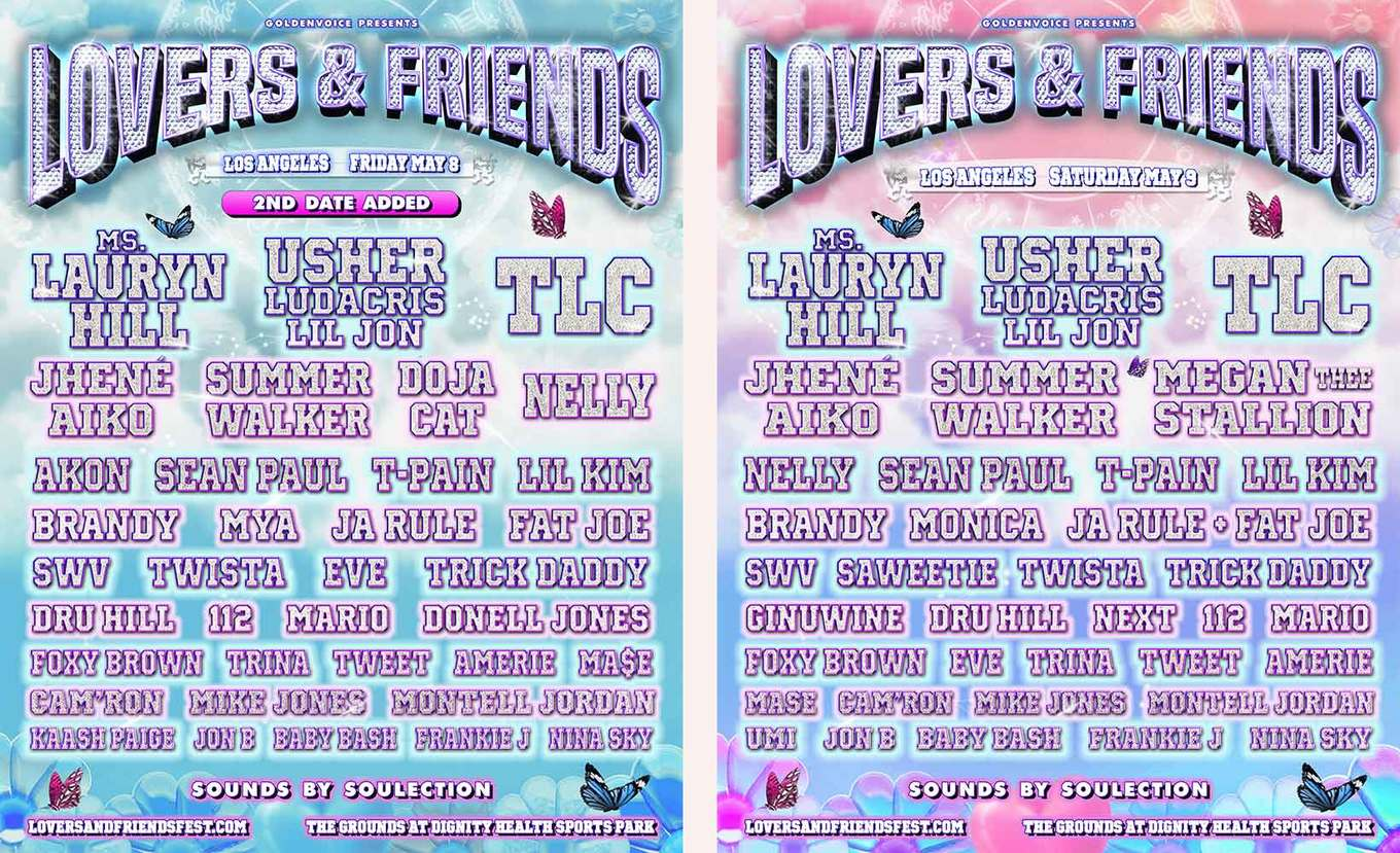 Lovers & Friends - Tickets - Dignity Health Sports Park ...