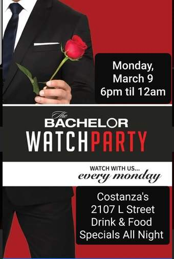 Not Another Tinderific Romance (Bachelor Finale Watch Party)