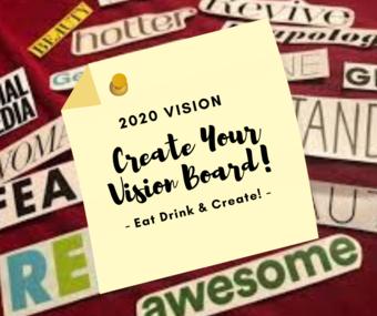 2020 Vision Board Night