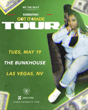 POSTPONED: Kamaiyah - Las Vegas, NV