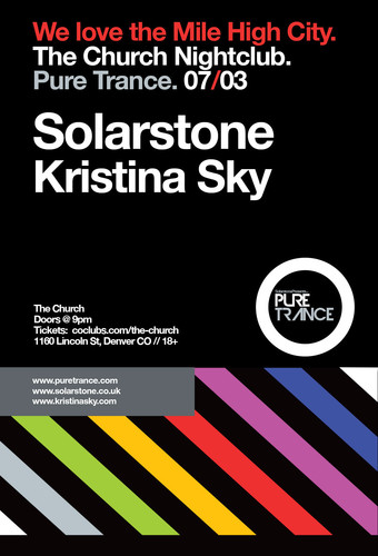 Pure Trance presents Solarstone with Kristina Sky **CANCELLED**