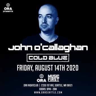Postponed: John O'Callaghan and Cold Blue at Ora