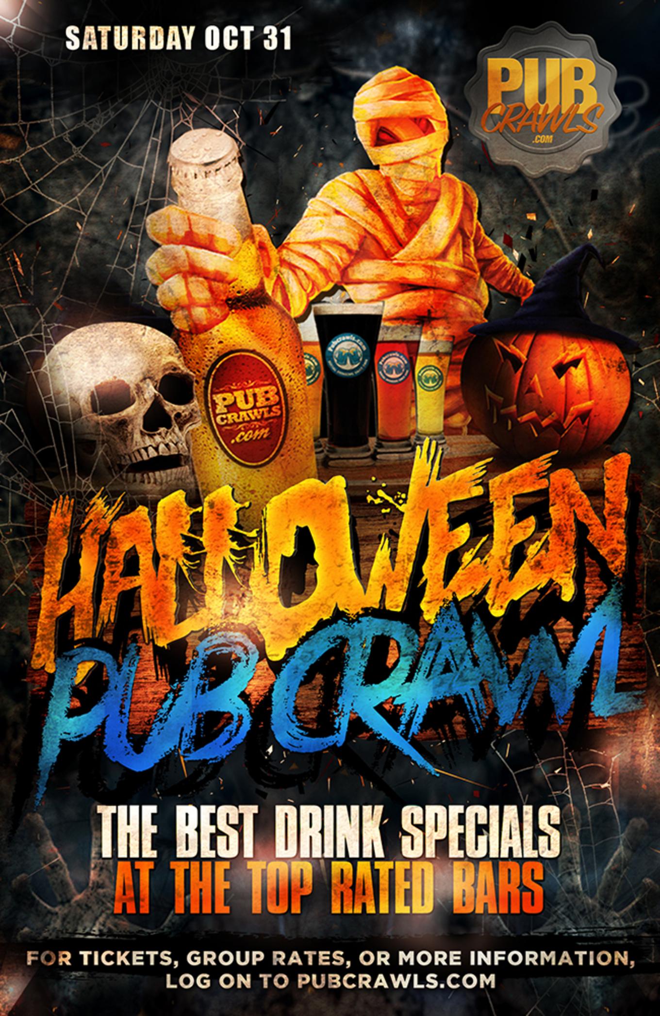 Halloween Bar Crawls 2020 Philadelphia Halloween Weekend Bar Crawl   Tickets   Howl at the