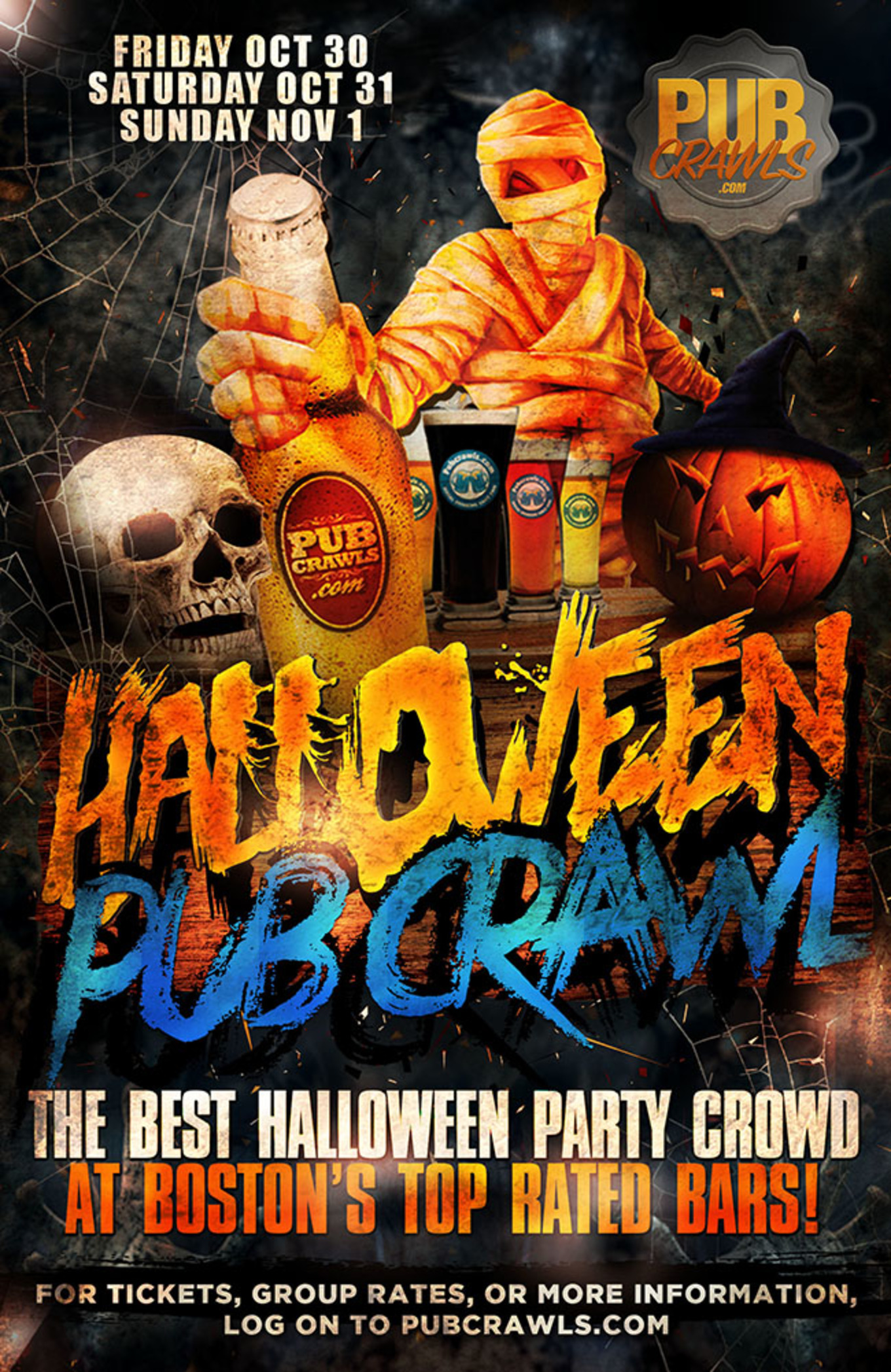 Halloween October 31st 2020 Miami Bar Crawl Boston Faneuil Hall Halloween Weekend Pub Crawl   Tickets   Hard