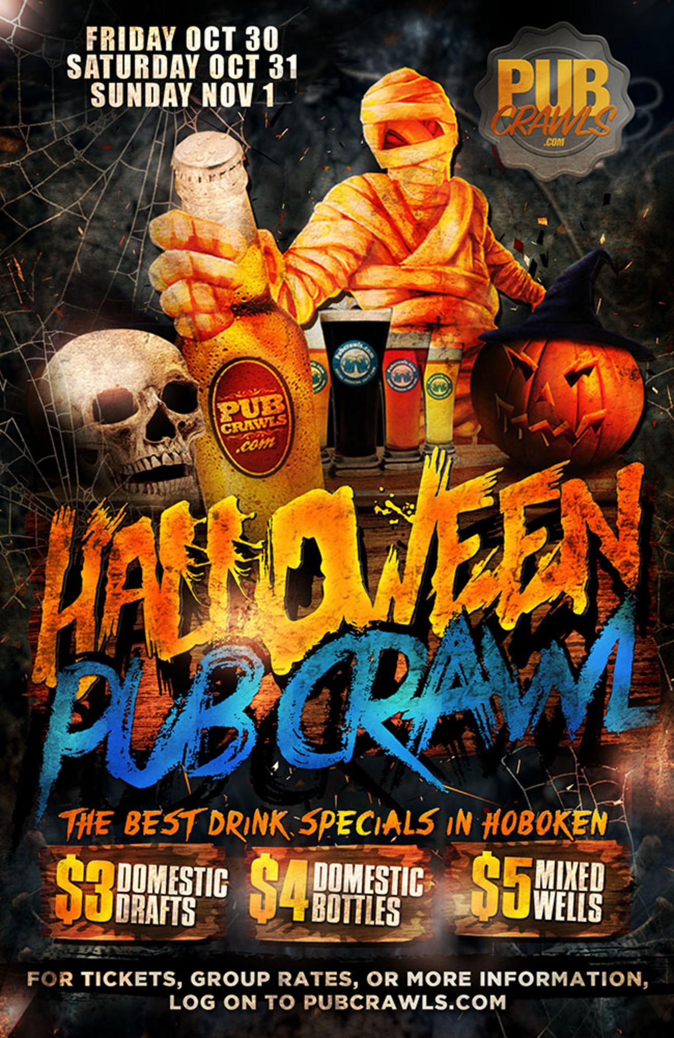 Hoboken Halloween 2020 Friday Official Hoboken Halloween Weekend Bar Crawl   Tickets   Texas