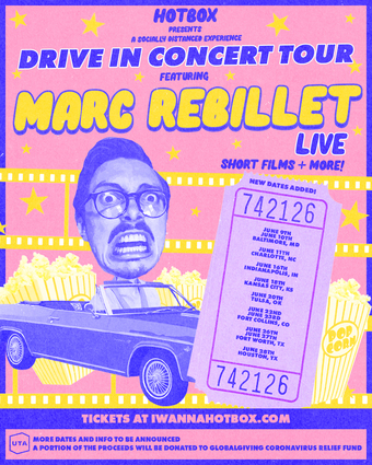 MARC REBILLET Drive-In Tour (Columbus, OH) presented by HOTBOX