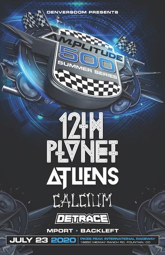 Amplitude 500 ft 12th Planet, ATLiens, Calcium, Detrace, MPort, & Backleft
