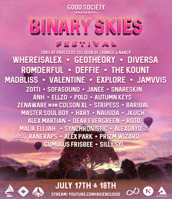 Good Society Presents: Binary Skies Festival