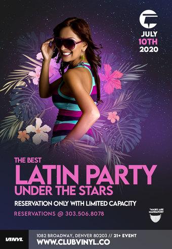 Latin Night - on the Club Vinyl Rooftop