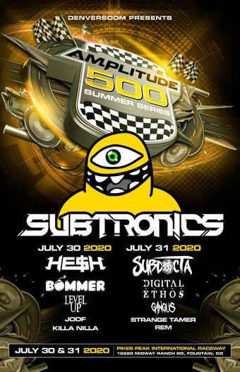 Amplitude 500 ft Subtronics, SubDocta, Digital Ethos, Gangus, Strange Tamer, & REM (Night 2)