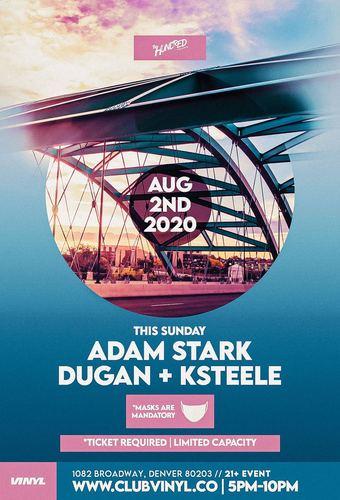 TheHundred Presents: Adam Stark + Dugan + KSTEELE