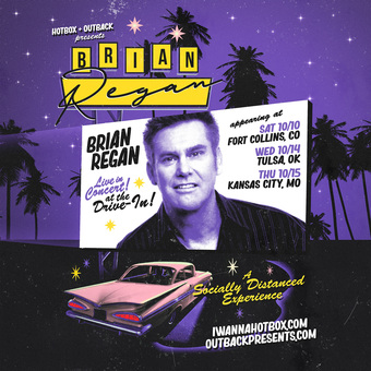 BRIAN REGAN: LIVE at the Drive-In Tour (Fort Collins, CO)