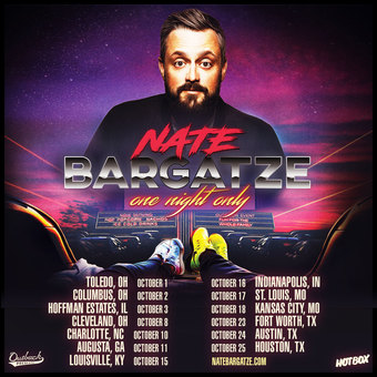 NATE BARGATZE: One Night Only - Drive-In Tour (Houston, TX)