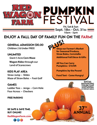 Red Wagon Pumpkin Festival