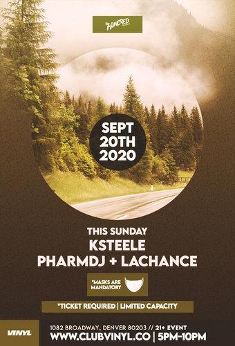 Sundown Sessions: KSTEELE + pharmdj + LaChance