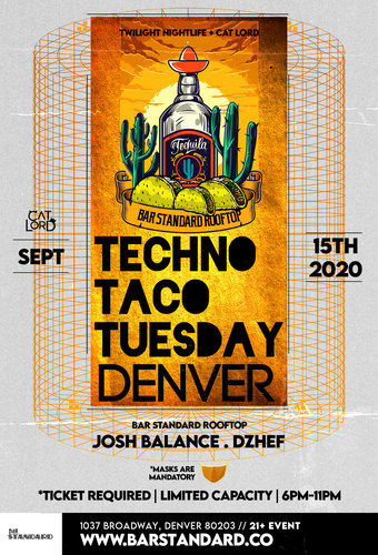 CatLord Presents: Techno Taco Tuesday - Rooftop Happy Hour