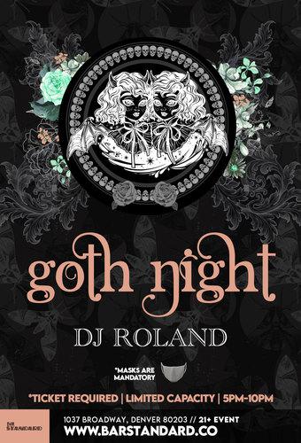 Milk Bar Presents: Goth Night - Rooftop Happy Hour