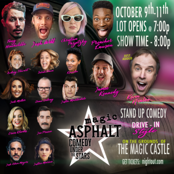 Magic Asphalt: Drive-In Comedy Under The Stars