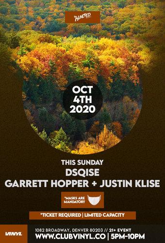 Sundown Sessions: DSQISE + Garrett Hopper + Justin Klise
