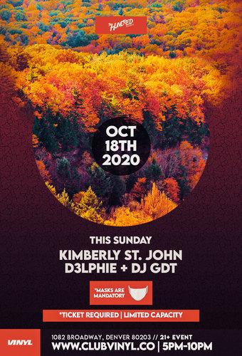 Sundown Sessions: Kimberly St. John + D3lphie + DJ GDT