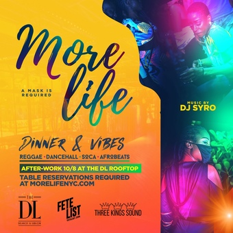 More Life: Dinner & Vibes 10/8