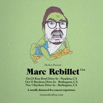 MARC REBILLET @ The Rose Bowl Drive-In (Pasadena, CA)