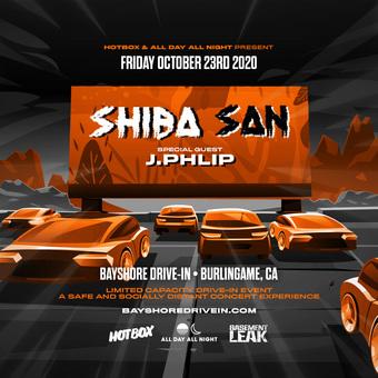Shiba San & J.Phlip Live @ Bayshore Drive-In (Burlingame, CA)