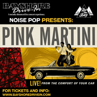 Pink Martini Live at the Drive-In (Burlingame, CA)