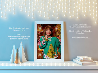 Aunt Mary Pat's Very Coveed Christmas Tour