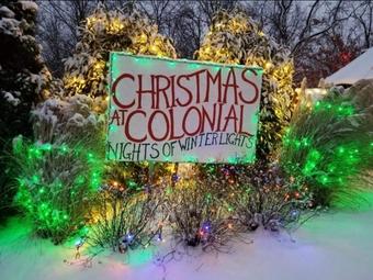Colonial Gardens Light Show