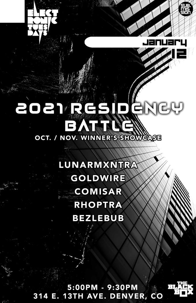 Electronic Tuesdays Residency Battle (Winner's Showcase)
