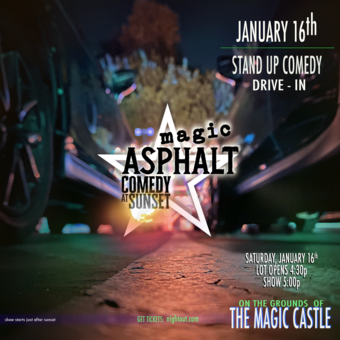 Magic Asphalt: Drive-In Comedy Live at Sunset