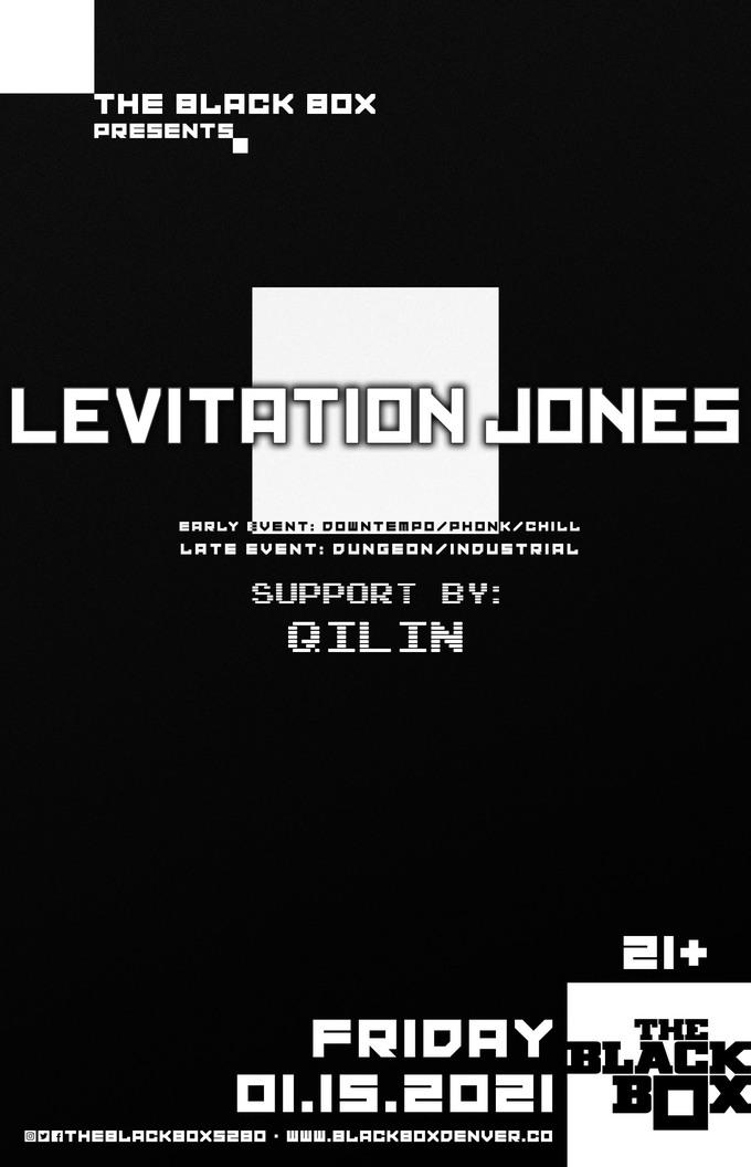 Levitation Jones - Downtempo/Phonk/Chill set w/ Qilin (Early Event)