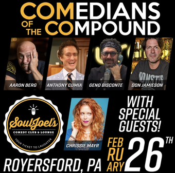 Comedians of the Compound at SoulJoel's Heated Dome