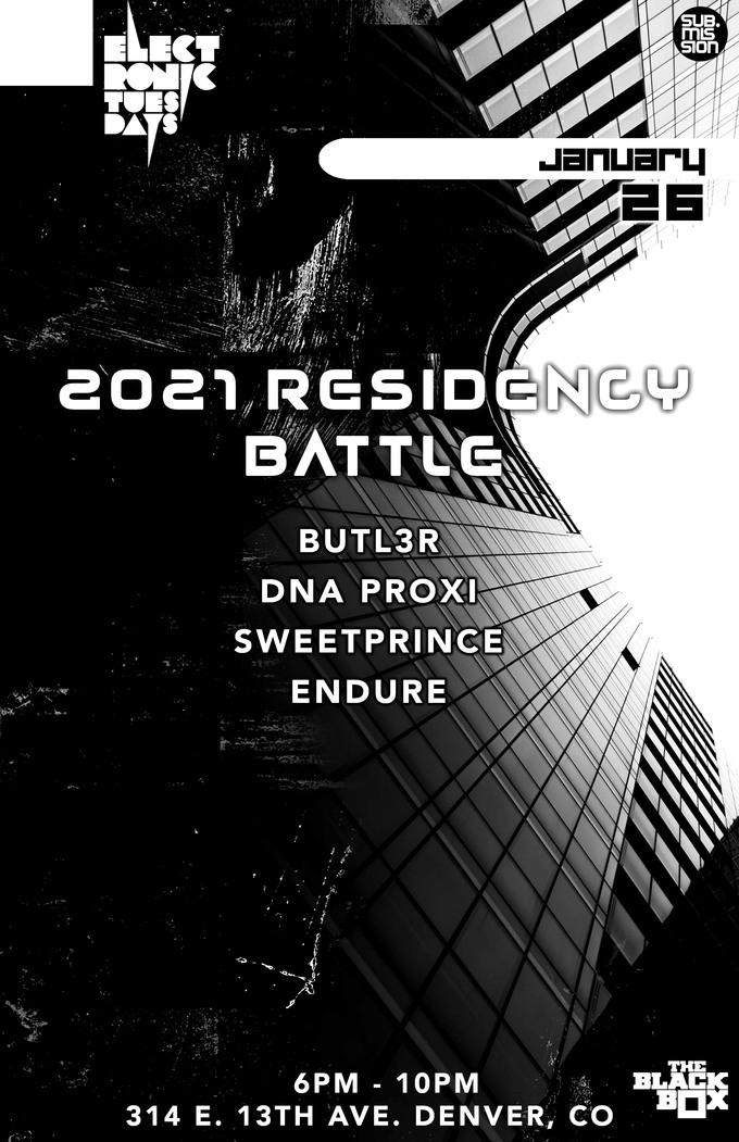 Electronic Tuesdays Residency Battle