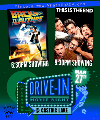 Movie Night: Back to the Future & This Is The End