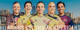 Hilarious Colombian Americans at SoulJoel's Heated Dome