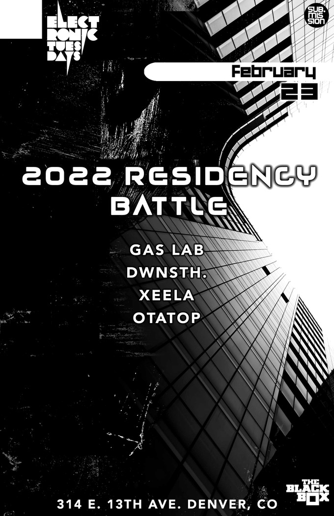 Electronic Tuesdays 2022 Residency Battle