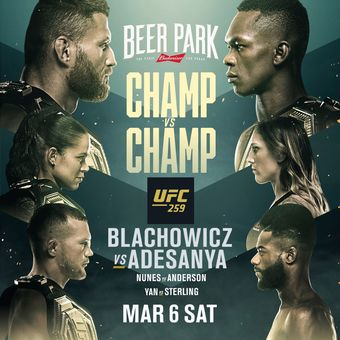 UFC 259 Viewing Party