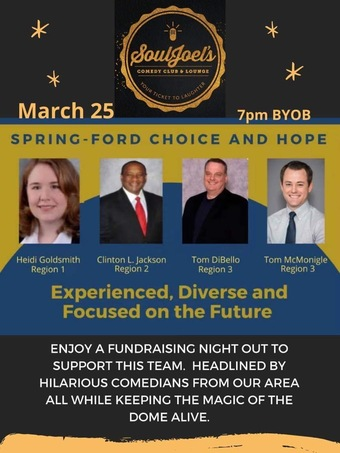 Spring-Ford Choice and Hope Comedy Fundraiser at SoulJoel's